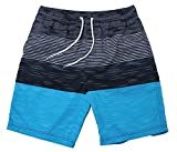 WUAMBO Men's Hybrid Boardshorts Drying Fast Swimming Shorts Waist 31'-33'