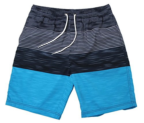 WUAMBO Men's Hybrid Boardshorts Drying Fast Swimming Shorts Waist 28'-31'
