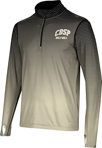 Men's Church Divinity of The Pacific College Zoom Half Zip Long Sleeve F07F2 by ProSphere