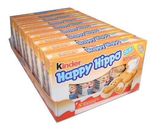 - Kinder Happy Hippo - Hazelnut, CASE, 10x(20.7g x 5) 50 pcs