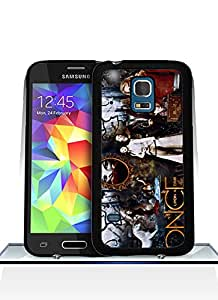 Cool Galaxy S5 Mini Funda Case, Once Upon A Time Logo Galaxy S5 Mini Aesthetic Back Film Protector Skin Ultra Thin Pink Samsung Galaxy S5 Mini With Funda Case Cover