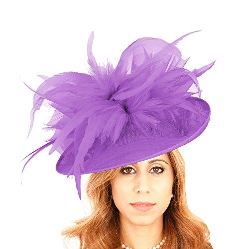 Matrimoni Purple berretto Buzzard Derby Colori Ascot Per Disponibili Fiocco Ideale Splendido 40 qPxHw6Ztp