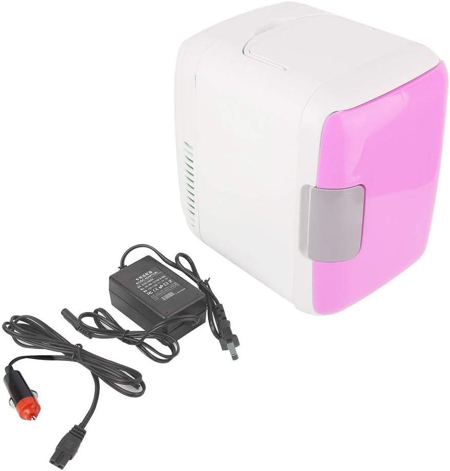 Bestlymood 12V 4L Car Refrigerators Portable Fridge Ultras Quiet Low Noise Freezer Cooler and Warmer Fridge Outdoor