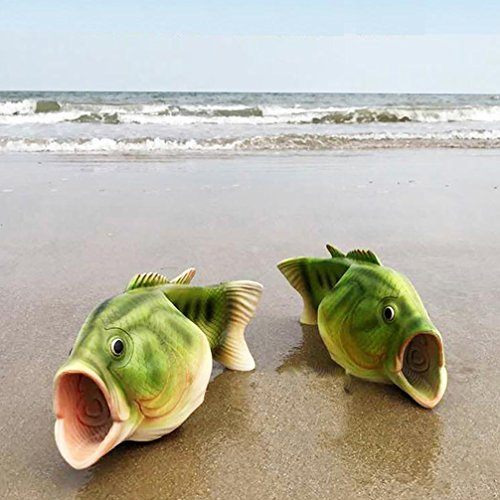 Summer Flip Flop Beach Shoes Pool Sandals Shoes Fish Slippers Unisex Adult Casual Shoe GhkmRMcVhW
