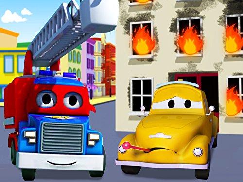 super-camion-la-ambulancia-el-camion-de-bomberos