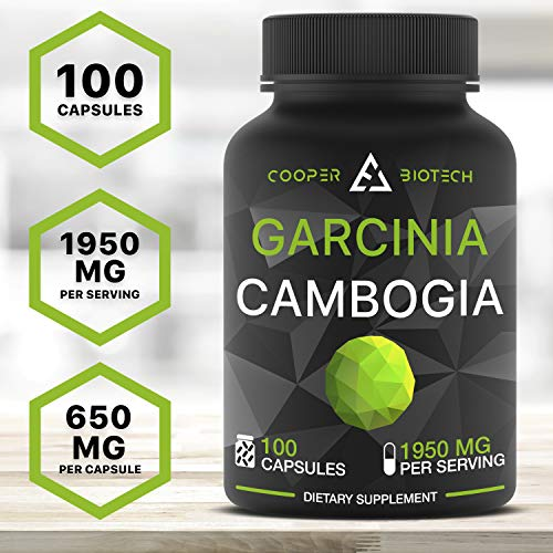 Garcinia Cambogia Extract – Appetite Suppressant and Carb Blocker – Garcinia Cambogia Raw Diet Pills – HCA Extract…