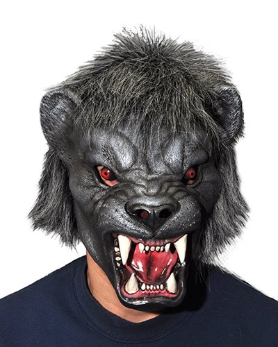 Zagone Black Panther Mask, Black Cat, Jaguar, Puma, Cougar -