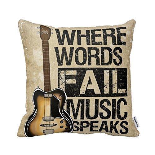 guitar room decor