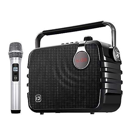 NEFFICAR Wireless Party Karaoke Mike Voice Amplifier With