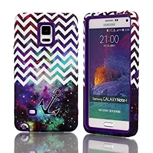 Galaxy Note 4,Ezydigital Carryberry Case Cover With Polka Dot Design For Samsung Galaxy Note 4 (SM-N910) (T-mobile,AT&T,Verizon,Sprint,International)(PURPLE)