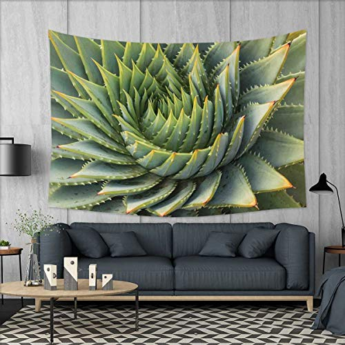smallbeefly Cactus Wall Hanging Tapestries Botanic Spikey Wi