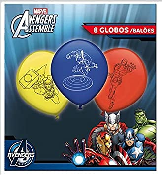 Marvel 8 Globos * Avengers Assemble * para los niños ...