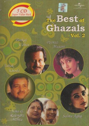 The Best of Ghazals Vol 2 (5 Disc Set)