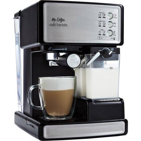 Cafe-Barista-Espresso-Maker-BVMC-ECMP1000-BlackSilver-132L-x-106W-x-146H