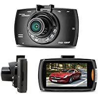 Aobiny Car Camera DVR 1080P 2.7HD LCD Dual Lens Car Dash Camera Video DVR Cam Recorder Night Vision