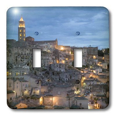 Sassi Cathedral Basilicata Italy Eu16 Dbn0167 David Barnes Double Toggle Switch Matera 3dRose lsp/_82105/_2 Duomo