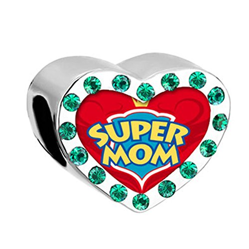 DemiJewelry Mothers Day Mom Heart Photo Charms For Bracelets (Super (Money Photo Charm)