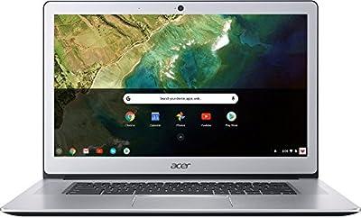"Acer Chromebook 15 CB515-1HT-P39B, Pentium N4200, 15.6"" Full HD Touch, 4GB LPDDR4, 32GB Storage (Certified Refurbished)"
