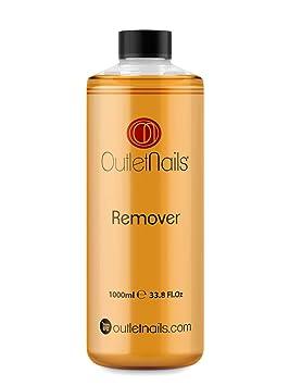 Novedad - Nail Remover 1000ml Mandarina para Esmaltes Permanentes/Olor a Mandarina Increíble/Ideal para remover Esmaltado Permanente: Amazon.es: Belleza