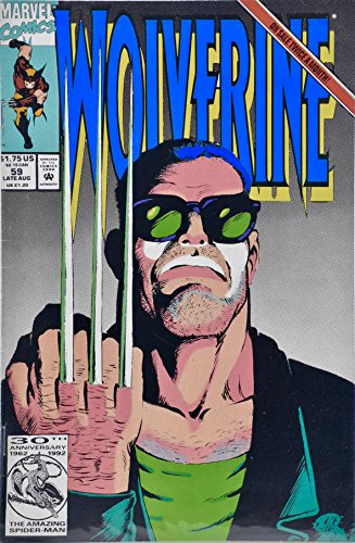 1992 - Marvel Comics - Wolverine Issue #59 - Unnatural Resources - Collectible ()