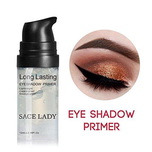 Waterproof Eyeshadow Primer Base,Long Lasting Smooth Eyelid Shadow Primer, Lightweight and Crease-proof,0.4 Fluid Ounce