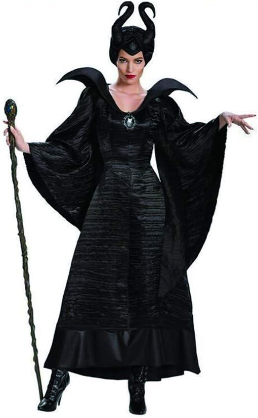 COOGG Disfraz de Maléfica de la película, Halloween, Carnaval ...