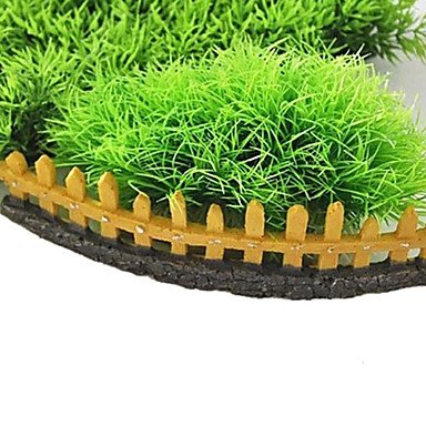 Quick shopping Fence for Aquatic Weeds Resin Decoration Ornament for Aquarium