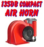 Nautilus 139db Compact Dual Tone Air Horn Just Plug-n-Blow Gr8 for Motorcycle ATV UTV golfcart