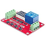Jili Online 5V, 12V, 24V Voltage Comparator Measuring Charge Discharge Module Range 0-100V - Red, 24V