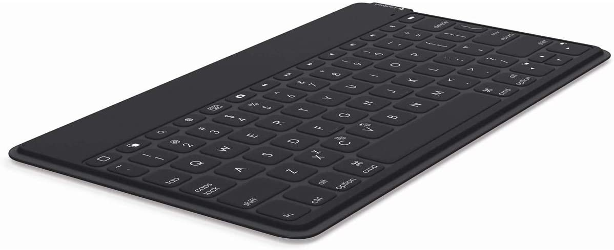 Logitech Wireless Keyboard | Keys-To-Go: Ultra Portable Bluetooth Keyboard for iPad, iPhone, Apple TV, Desktop and More (Black)