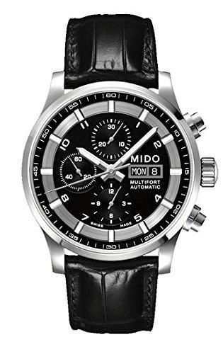 Mido Men's Watch Multi XL Chronograph automatic leather M0056141605721