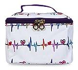Jenzys Nurse Heartbeat Makeup Bag