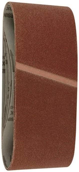 Papel de lija para lijadoras de banda 100x915 mm grano 80 5 ud. HIKOKI 753293