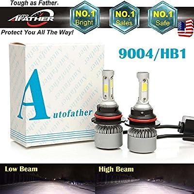 3-Side 9004 HB1 LED Headlights Conversion Bulbs Kit High Low Beam 120 W 12000Lm Super Bright Energy Saving – 2 Year Warranty …