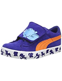 Puma S Vulc Tom and Jerry Kids Velcro Suede Sneakers / Shoes