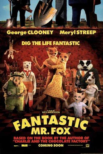 Fantastic Mr. Fox 27x40 Movie Poster
