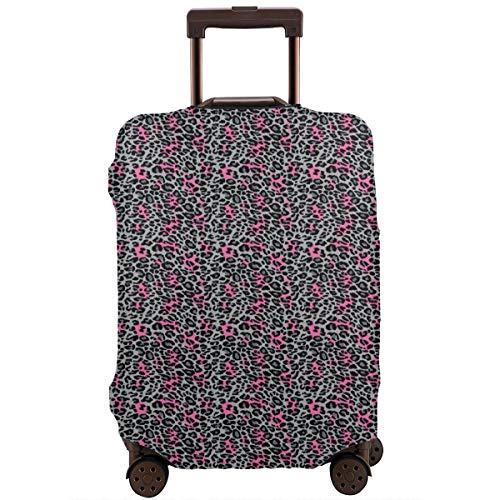 Travel Luggage Cover,African Safari Animal Nature Inspired Fashion Cheetah Panther Suitcase Protector (Cheetah Bedding Inc)