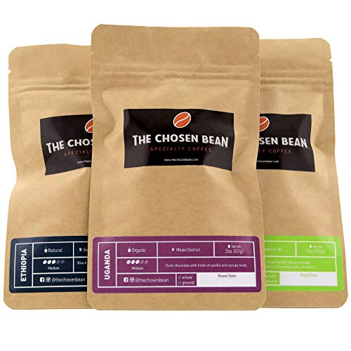 The Chosen Bean Premium Gourmet Coffee Try Me Africa 3 Special African Coffee Roasts Small Batch Roasted