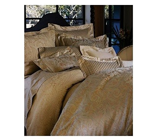 (Peacock Alley San Pietro / Sorrento Italian Queen Duvet Set, Topaz)