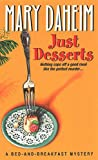 Front cover for the book Just Desserts by Mary Daheim