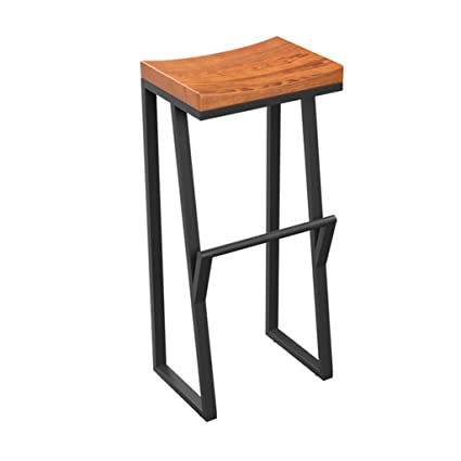 Amazoncom Jhome Barstools Industrial Bar Stool Footrest Dining