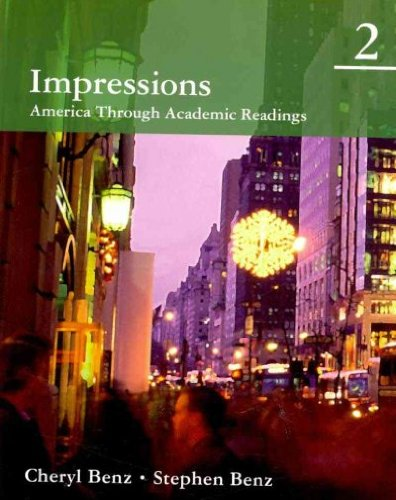 Read Online Impressions 2: America Through Academic Readings pdf