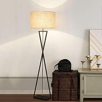 PPAMZ Lámpara de pie para Salón, Inteligente Lampara LED Regulable ...