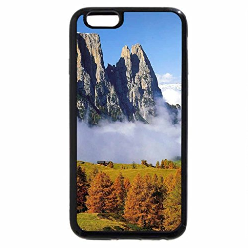 iPhone 6S / iPhone 6 Case (Black) Misty Autumn Valley