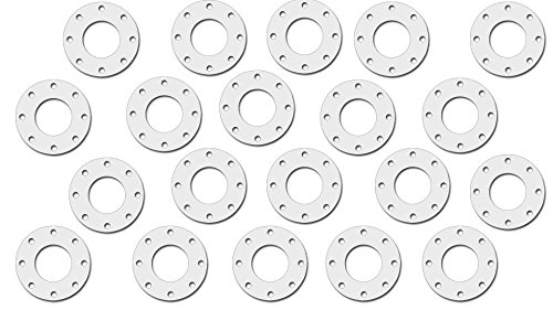 1//16 Thick Sterling Seal CFF7530.100.062.300X20 7530 Full Face Gasket Pack of 20 1.31 ID Pressure Class 300# 1 Pipe Size PTFE//Virgin Teflon
