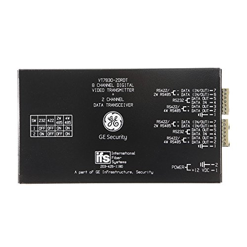 IFS GE VT7830-2DRDT 8-Channel Digital Video, 2-Channel Multiplexer Module