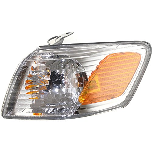 Evan-Fischer EVA20572013697 Corner Light for Toyota Camry 00-01 Corner Lamp LH Assembly Left Side