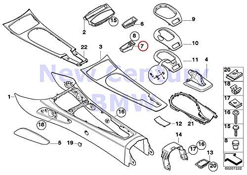 Console Ashtray Insert - BMW Genuine Center Console Storing Partition Ashtray Insert Z4 2.5i Z4 3.0i Z4 3.0si Z4 M3.2 Z4 3.0si Z4 M3.2