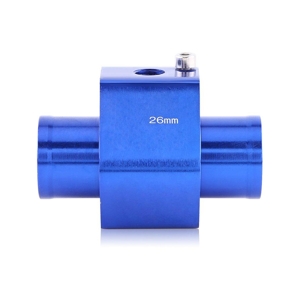 Universal Car Aluminum Water Temp Joint Pipe Hose Temperature Sensor Adapter Clamps 26-34MM 38mm
