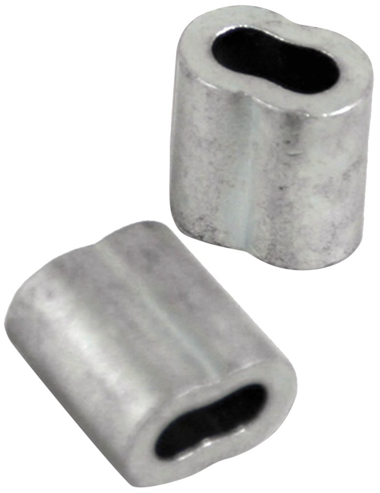 Zareba HTGCS4525 Gritted Crimping Sleeve, 10 Pack